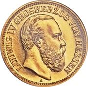 20 Mark - Ludwig IV -  avers