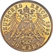20 Mark - Ludwig IV -  revers