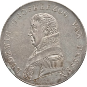 1 Taler - Ludwig X – avers