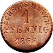 1 Pfennig - Ludwig III – revers
