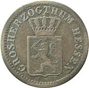 1 kreuzer Ludwig III – avers