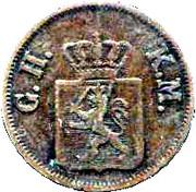 1 Heller - Ludwig III – avers