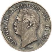 ½ Gulden - Ludwig III – avers