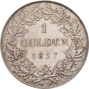 1 Gulden - Ludwig II – revers