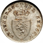 6 Kreuzer - Ludwig II – avers