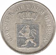 6 Kreuzer-Ludwig II – avers