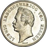 1 Gulden - Ludwig III (Royal Visit) – avers