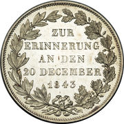 1 Gulden - Ludwig III (Royal Visit) – revers