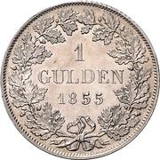 1 Gulden - Ludwig III – revers