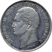1 thaler Ludwig II – avers