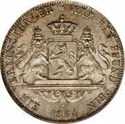 1 Taler Ludwig III – revers