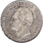 2 Gulden - Ludwig II – avers