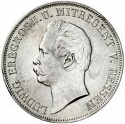1 gulden Ludwig III -  avers