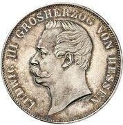 1 vereinsthaler Ludwig III – avers