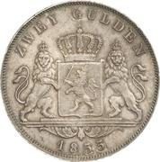 2 Gulden - Ludwig III – revers