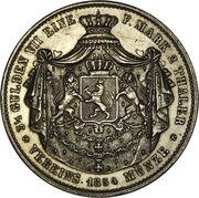 2 Thaler / 3½ Gulden - Ludwig III – revers