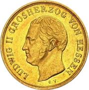 5 Gulden - Ludwig II – avers