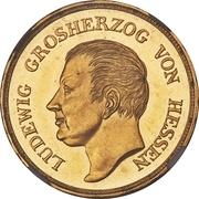 10 Gulden - Ludwig X – avers