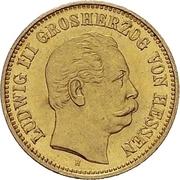 5 Mark - Ludwig III – avers