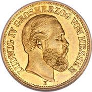 5 Mark - Ludwig IV – avers