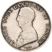 ½ Gulden - Ludwig Wilhelm – avers