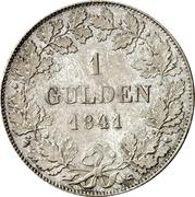 1 gulden Philipp August – revers