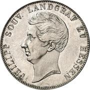 1 gulden Philipp August – avers