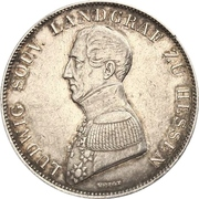 1 Gulden - Ludwig Wilhelm – avers