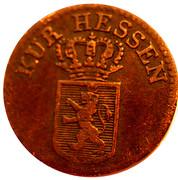 ¼ kreuzer Wilhelm II et Friedrich Wilhelm – avers