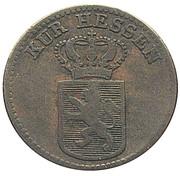 ½ kreuzer Wilhelm II et Friedrich Wilhelm – avers