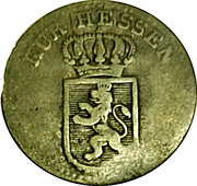 6 kreuzer Wilhelm II – avers