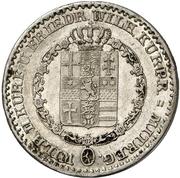 ⅙ Thaler - Wilhelm II & Friedrich Wilhelm – avers