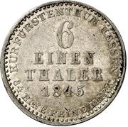 ⅙ Thaler - Wilhelm II & Friedrich Wilhelm – revers