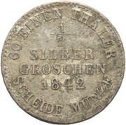 ½ Silbergroschen - Wilhelm II – revers