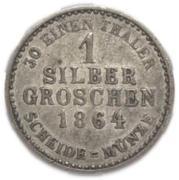 1 Silber Groschen - Friedrich Wilhelm I – revers
