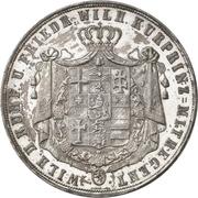 2 Thaler / 3½ Gulden - Wilhelm II and Friedrich Wilhelm – avers