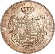 2 Thaler - Friedrich Wilhelm I – revers