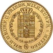 5 Thaler - Wilhelm II and Friedrich Wilhelm – avers