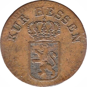¼ Kreuzer - Wilhelm II – avers