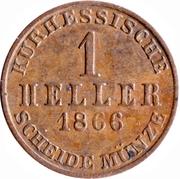1 Heller - Friedrich Wilhelm – revers