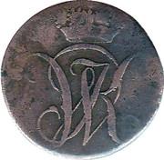 1 Heller - Wilhelm I – avers