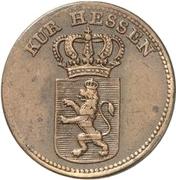 1 Kreuzer - Wilhelm II – avers