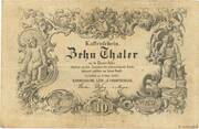 10 Thaler -  avers
