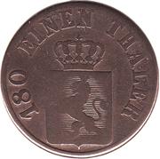 2 Heller - Wilhelm II – avers
