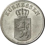 6 kreuzer Wilhelm II et Friedrich Wilhelm – avers