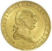 1 ducat Wilhelm IX – avers