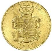 1 ducat Wilhelm IX – revers