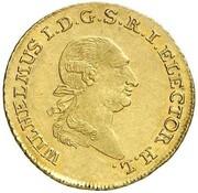 5 thaler Wilhelm IX – avers