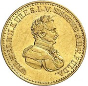 5 thaler Wilhelm II – avers