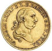 5 thaler Wilhelm I – avers